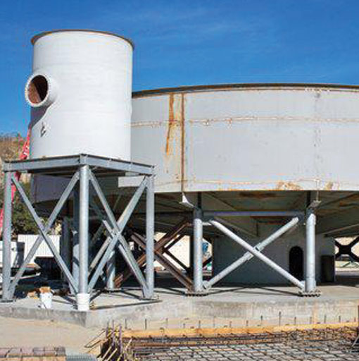 featured project - storage tank